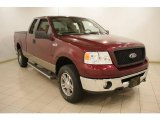 2006 Dark Toreador Red Metallic Ford F150 XLT SuperCab 4x4 #21389013