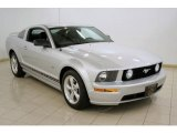 2007 Satin Silver Metallic Ford Mustang GT Premium Coupe #21389324