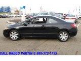 2007 Nighthawk Black Pearl Honda Civic LX Coupe #21369324