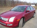 2008 Redfire Metallic Ford Fusion SEL V6 #21373335