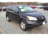 2007 Nighthawk Black Pearl Honda CR-V LX 4WD #21384678
