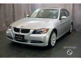 2008 Titanium Silver Metallic BMW 3 Series 335xi Sedan #21445230