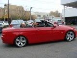 2009 Crimson Red BMW 3 Series 335i Convertible #21447883