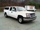 2003 Summit White Chevrolet Silverado 1500 Z71 Extended Cab 4x4 #21444849