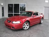 2003 Redfire Metallic Ford Mustang Cobra Convertible #21446706