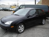 2005 Pitch Black Ford Focus ZX3 SES Coupe #21458622