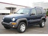 2002 Patriot Blue Pearlcoat Jeep Liberty Sport 4x4 #21448703