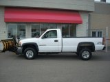 2007 Summit White GMC Sierra 2500HD Classic Regular Cab Chassis #21462503