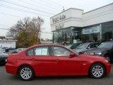 2007 Crimson Red BMW 3 Series 328xi Sedan #21447858