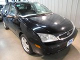 2005 Pitch Black Ford Focus ZX4 SES Sedan #21459674