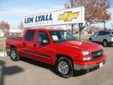 2006 Victory Red Chevrolet Silverado 1500 LT Crew Cab #21506190