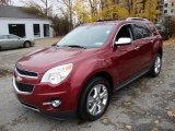 2010 Cardinal Red Metallic Chevrolet Equinox LTZ #21510132
