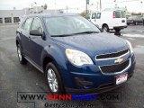 2010 Navy Blue Metallic Chevrolet Equinox LS #21513563