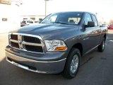 2010 Mineral Gray Metallic Dodge Ram 1500 SLT Quad Cab 4x4 #21502295