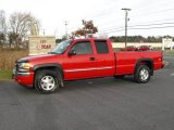 2005 Fire Red GMC Sierra 1500 Z71 Extended Cab 4x4 #21511747