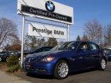 2007 Montego Blue Metallic BMW 3 Series 335i Sedan #2146669