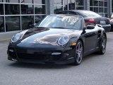 2008 Black Porsche 911 Turbo Cabriolet #215448