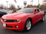 2010 Victory Red Chevrolet Camaro LT Coupe #21497257