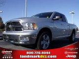 2010 Bright Silver Metallic Dodge Ram 1500 Big Horn Quad Cab #21566251