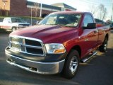 2010 Inferno Red Crystal Pearl Dodge Ram 1500 ST Regular Cab #21560710
