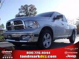 2010 Bright Silver Metallic Dodge Ram 1500 Big Horn Quad Cab #21566253