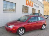 2005 Sangria Red Metallic Ford Focus ZX3 SES Coupe #21562556