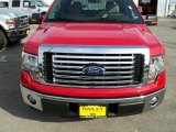 2010 Vermillion Red Ford F150 XLT SuperCrew #21563890