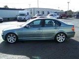 2003 Grey Green Metallic BMW 3 Series 325i Sedan #21571347