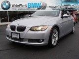 2007 Titanium Silver Metallic BMW 3 Series 335i Coupe #21559882