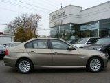 2009 Platinum Bronze Metallic BMW 3 Series 328xi Sedan #21560483