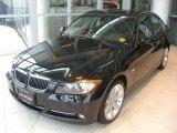 2008 Jet Black BMW 3 Series 335xi Sedan #2146266