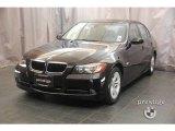 2008 Jet Black BMW 3 Series 328xi Sedan #21616945