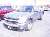 2007 Blue Granite Metallic Chevrolet Silverado 1500 LT Extended Cab #21637080
