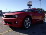 2010 Victory Red Chevrolet Camaro SS Coupe #21628887