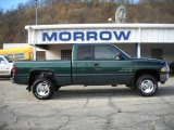 1999 Emerald Green Pearl Dodge Ram 1500 SLT Extended Cab 4x4 #21623564