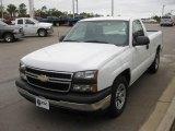 2006 Summit White Chevrolet Silverado 1500 Work Truck Regular Cab #21627790
