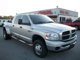 Bright Silver Metallic Dodge Ram 3500 in 2008