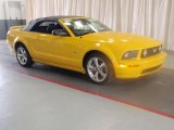2006 Screaming Yellow Ford Mustang GT Premium Convertible #21637183
