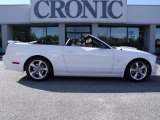 2007 Performance White Ford Mustang GT Premium Convertible #21627153