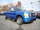 2010 Blue Flame Metallic Ford F150 STX SuperCab #21625546