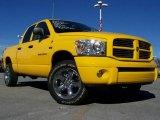Detonator Yellow Dodge Ram 1500 in 2007