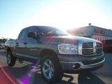 2007 Mineral Gray Metallic Dodge Ram 1500 SLT Quad Cab 4x4 #21625852