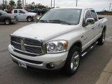 2008 Bright White Dodge Ram 1500 SLT Quad Cab #21627789