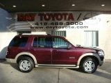 2006 Dark Cherry Metallic Ford Explorer Eddie Bauer 4x4 #21619087