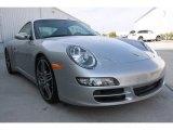 2008 Arctic Silver Metallic Porsche 911 Carrera 4S Coupe #21628675