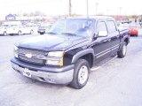 2005 Black Chevrolet Silverado 1500 LT Crew Cab 4x4 #21637081