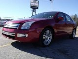 2008 Redfire Metallic Ford Fusion SEL V6 #21628892