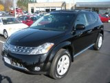 2006 Super Black Nissan Murano SL AWD #21568883