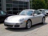 2007 Arctic Silver Metallic Porsche 911 Carrera Coupe #216102