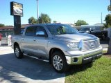 2010 Silver Sky Metallic Toyota Tundra Platinum CrewMax 4x4 #21705276